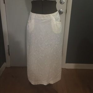 Vintage satin skirt sz medium